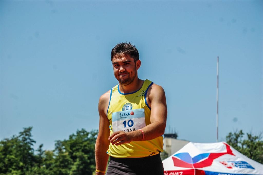 DAVID HERÁK - atletika, Foto: archiv D. Heráka