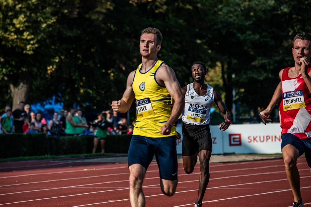 Sprinter MATĚJ KRSEK, Foto: David Herák
