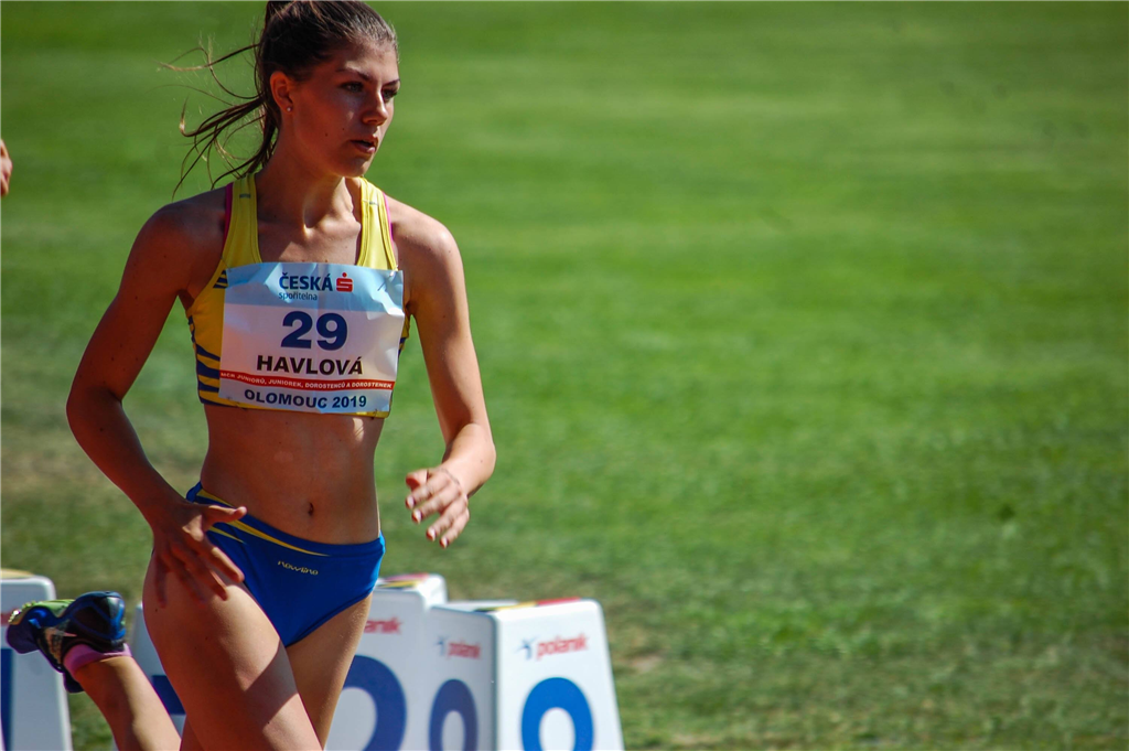 ADRIANA HAVLOVÁ - atletika, Foto: archiv A. Havlové