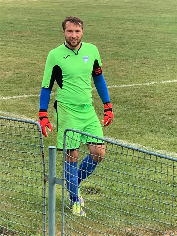 PETR KOVÁŘ - fotbal Slavoj Kladno, Foto: archiv P. Kováře