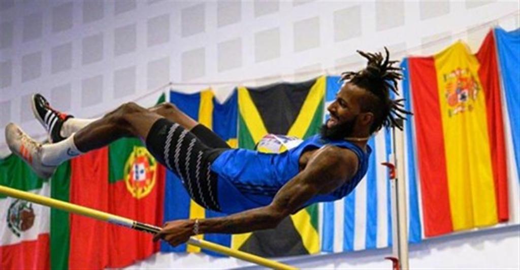 Výškař Jamal Wilson z Baham, Zdroj: A.C. TEPO Kladno