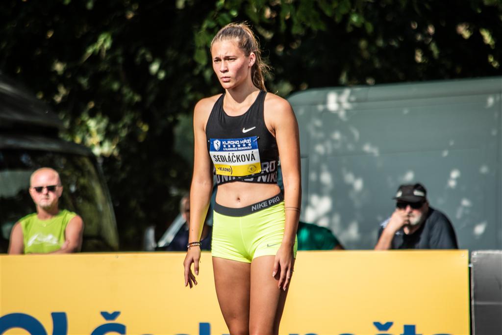 Výškařka L. Sedláčková , Foto: David Herák