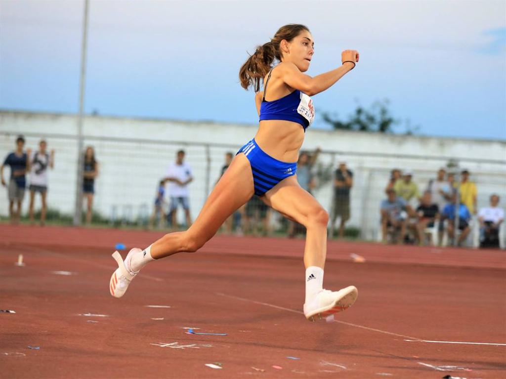 Panogiota Dosi - řecká národní šampionka, Zdroj: A.C. TEPO Kladno