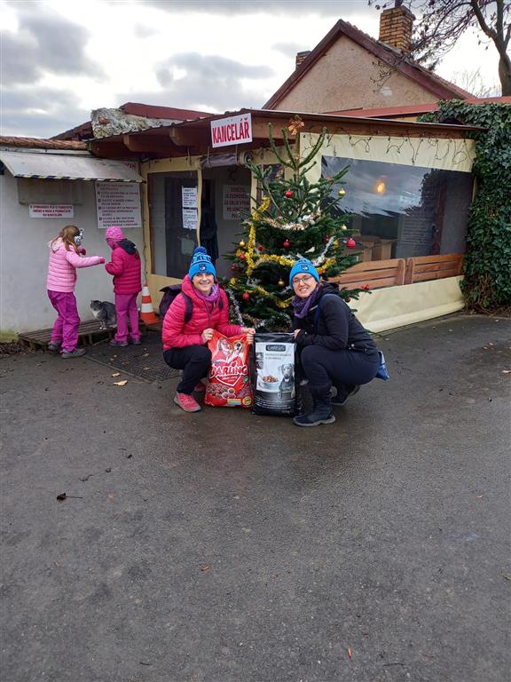 Míša a Terezka na Bouchalce, Zdroj: OCR team Kladno