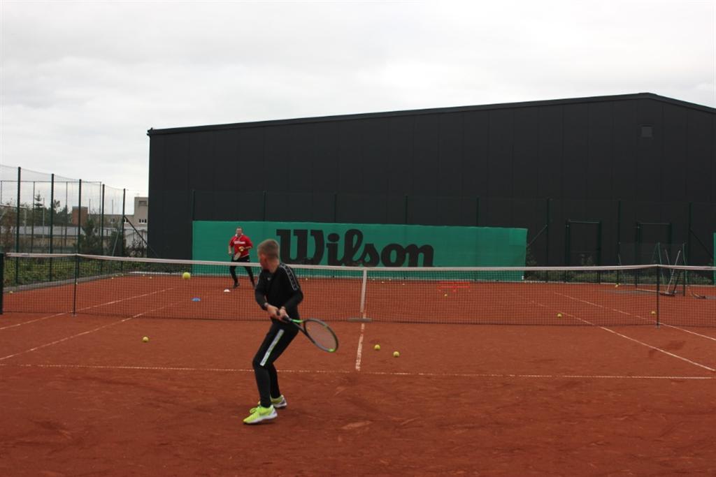 Trénink, Foto: Tennis Academy Maršoun