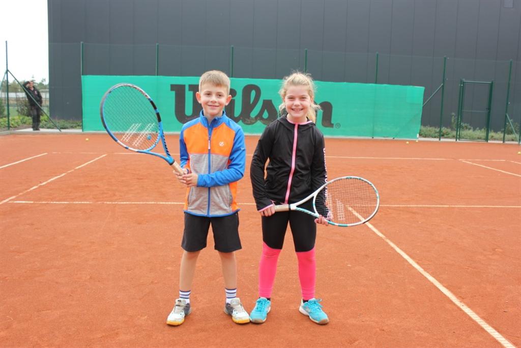 Trénování na kurtech v r. 2020, Foto: Tennis Academy Maršoun