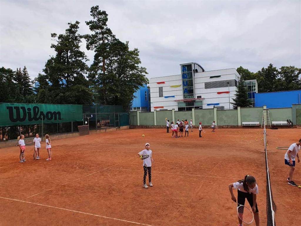 Přípravný kemp A.C. TEPO Kladno, Zdroj: Tennis Academy Maršoun