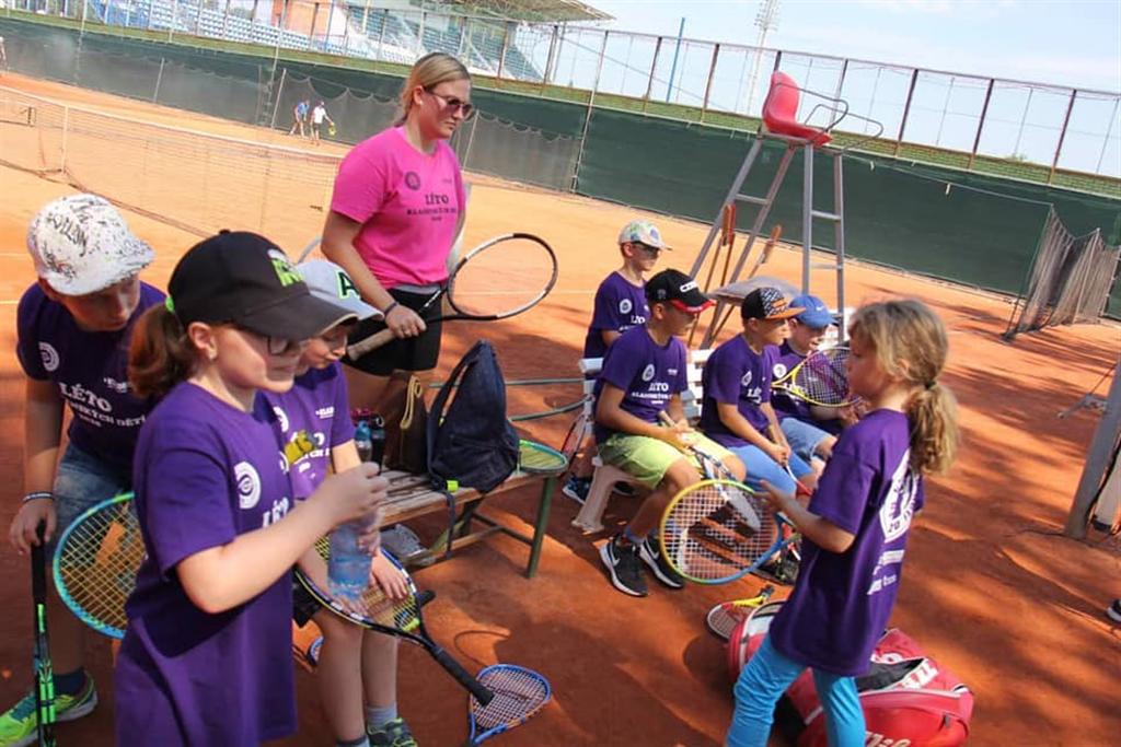 Léto kladenských dětí - Sportovní areály města Kladna, Zdroj: Tennis Academy Maršoun
