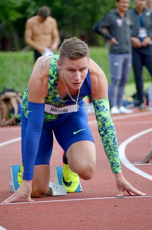 Pavel Maslák - trojnásobný halový mistr světa a také trojnásobný halový mistr Evropy v běhu na 400 m, Zdroj: A.C. TEPO Kladno