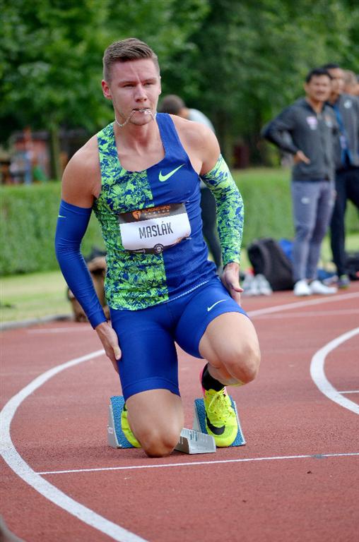 Pavel Maslák je halovým mistrem světa i Evropy v běhu na 400 m, Zdroj: A.C. TEPO Kladno