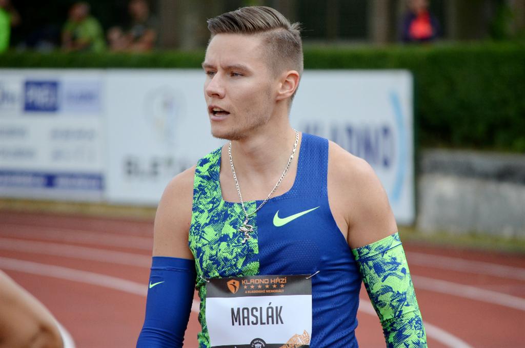 PAVEL MASLÁK - trojnásobný mistr světa i Evropy v běhu na 400 m , Zdroj: A.C. TEPO Kladno