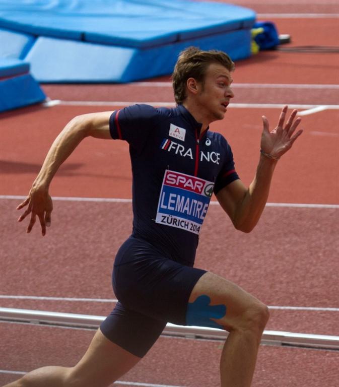 Francouzský sprinter Christophe Lemaitre, Zdroj: A.C. TEPO Kladno