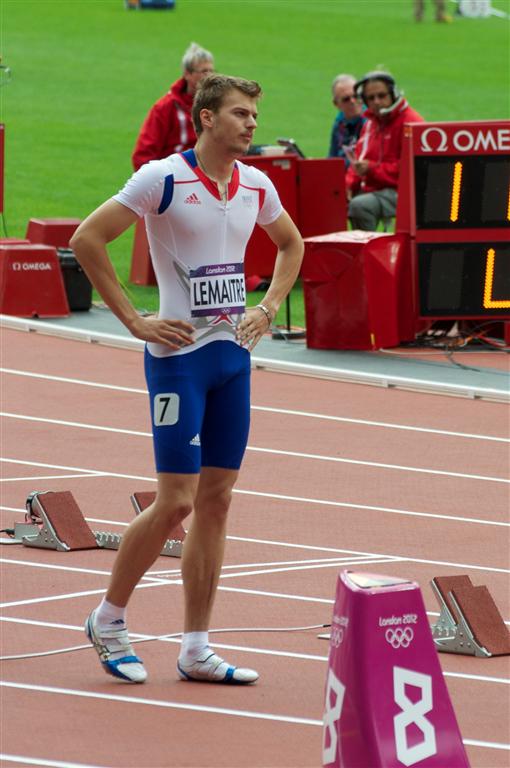 Christophe Lemaitre z Francie, Zdroj: A.C. TEPO Kladno
