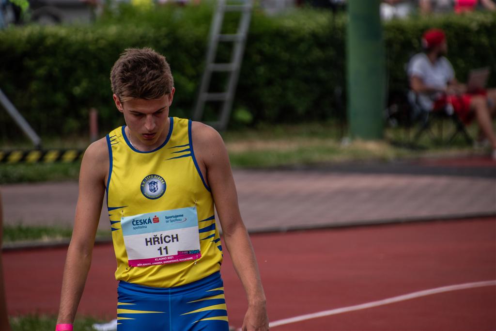Jan Hřích - MČR juniorů a dorostu Kladno r. 2021, Foto: David Herák