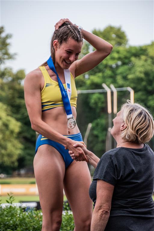 Radana Lapáčková - MČR juniorů a dorostu Kladno r. 2021, Foto: David Herák