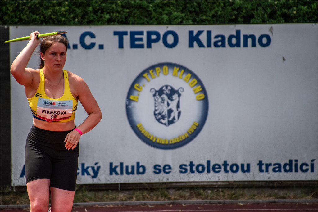 Aneta Fikesová - MČR juniorů a dorostu Kladno r. 2021, Foto: David Herák