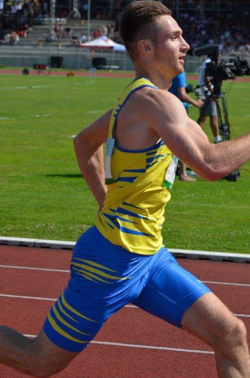 Matěj Krsek - běh na 400 m 1. místo (46,40 s) MČR Zlín r. 2021, Zdroj: A.C. TEPO Kladno