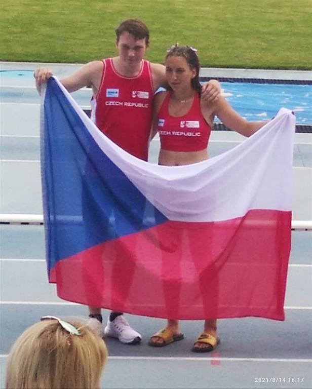 Mezistátní utkání v atletice v Brně r. 2021