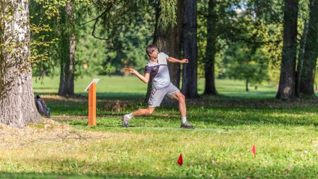 Loňský turnaj - DiscGolfPark Stromovka v Českých Budějovicích, Zdroj: Budweis Discgolf Club