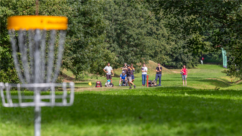 DiscGolfPark Stromovka v Českých Budějovicích, Zdroj: Budweis Discgolf Club