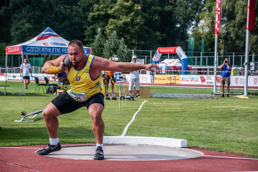 Tomáš Staněk - MČR družstev mužů a žen Břeclav r. 2021, Foto: David Herák