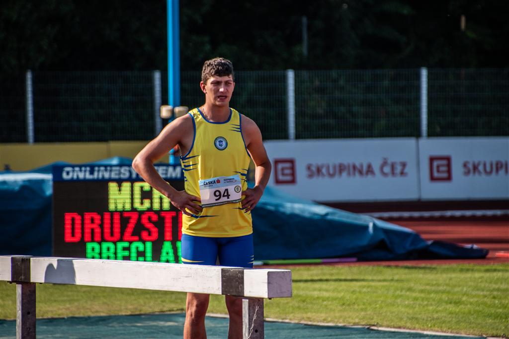 Martin Veselý - MČR družstev mužů a žen Břeclav r. 2021, Foto: David Herák