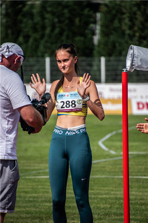 Tereza Vlková - MČR družstev mužů a žen Břeclav r. 2021, Foto: David Herák